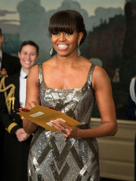 1 место. Мишель Обама