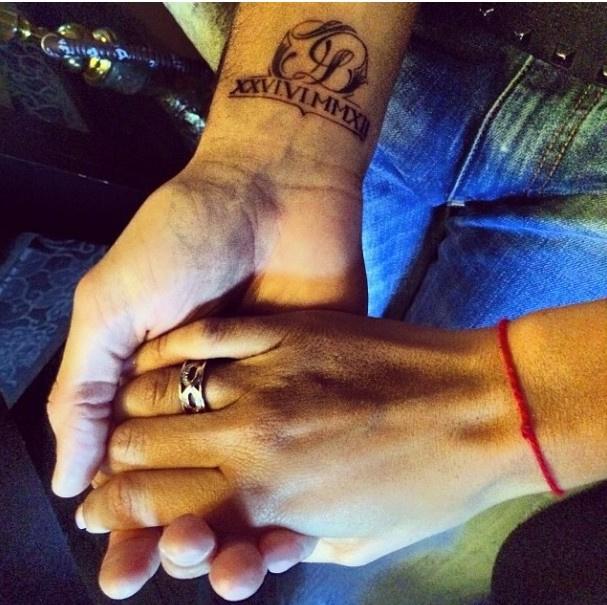 Памятная татуировка Тарасова, сделанная в честь свадьбы с Бузовой