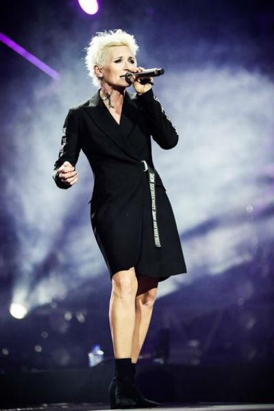 Диана Арбенина поблагодарила зрителей за их многолетнюю поддержку