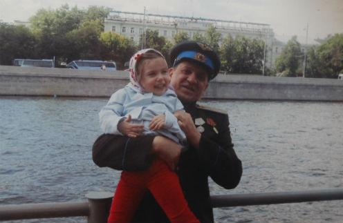 Игорь Арташонов с дочкой Ладой