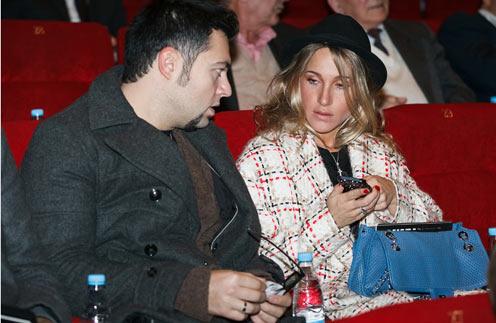 Юлия Ковальчук и Алексей Чумаков на премьере фильма «Сталинград»