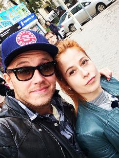 Татьяна Кирилюк и Евгений Иго