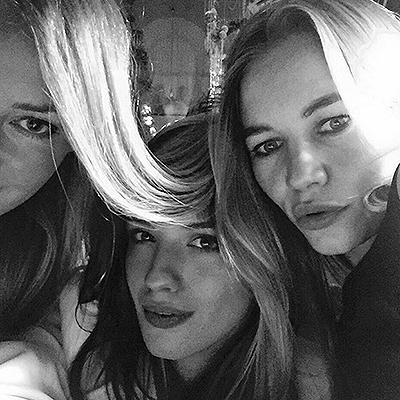 Ходченкова, Чиповская и Устинова являются хорошими приятельницами