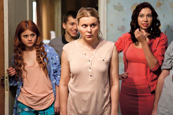 Троянова в полюбившемся миллионам сериале «Ольга», 2016 год