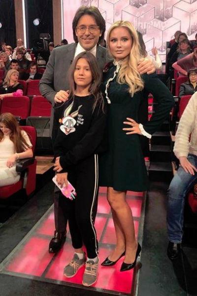 Дана Борисова с дочерью Полиной на ток-шоу
