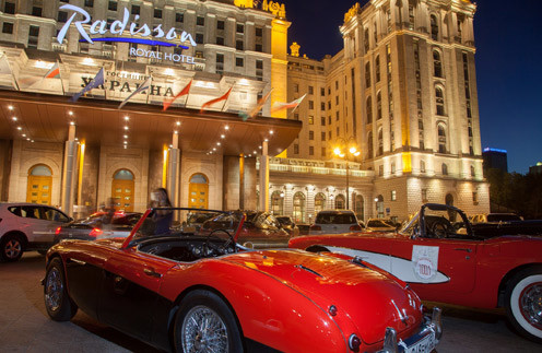 Ралли на ретро-карах «Ночная Москва»