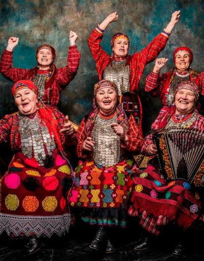 Ансамбль был создан в селе Бураново Удмуртии более 45 лет назад