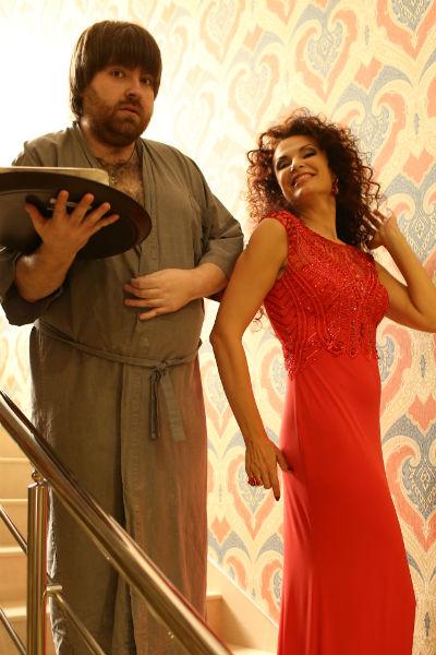 Эвелина Бледанс с супругом Александром