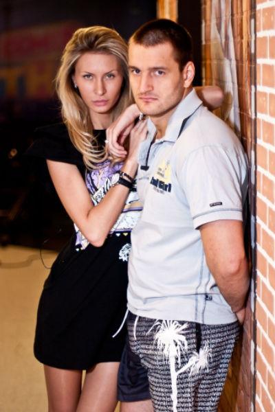 Алексей Самсонов и Элина Камирен во время участия в «Доме-2»