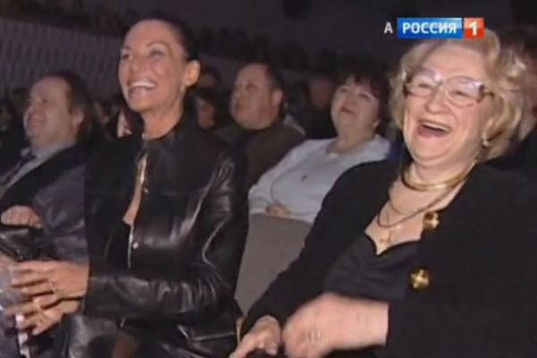 Ирина Понаровская с мамой