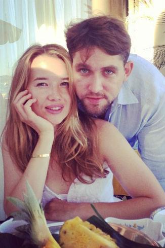 Ида Лоло и ее новая любовь Алексей Киселев