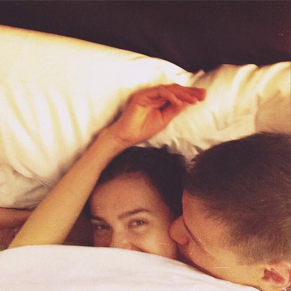 Лена с любимым мужем Дмитрием