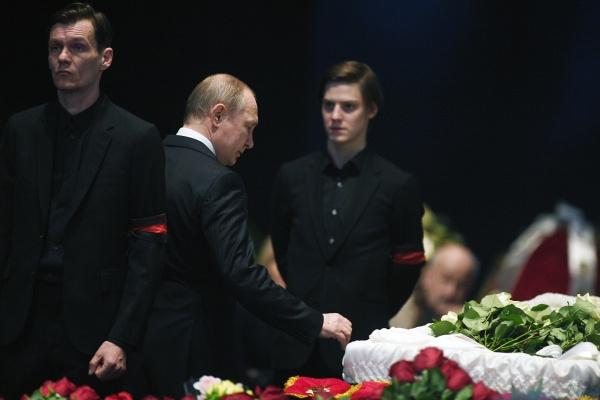 Филипп Янковский, Владимир Путин и сын Олега Табакова Павел