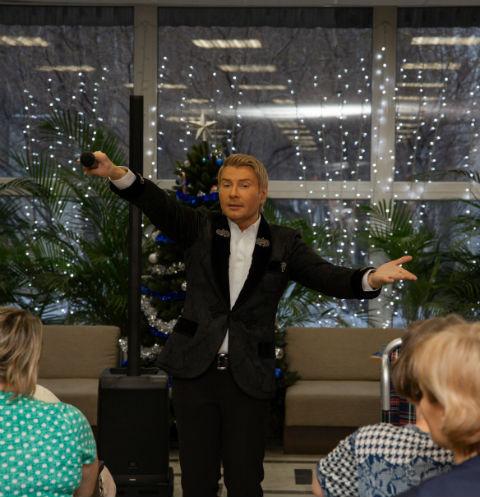 Николай Басков отправит хосписам «Вера» деньги заальбом рождестственских песен