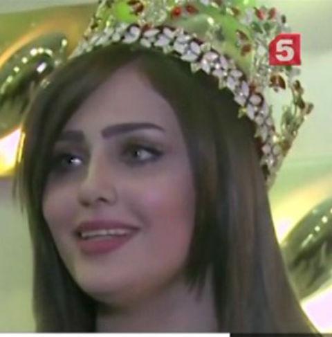 Шайма Касим, «Мисс Ирак 2015»