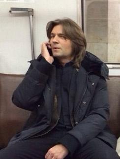 Дмитрий Маликов в метро