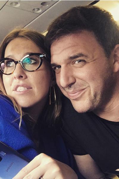 Ксения Собчак и Максим Виторган редко комментируют слухи об их отношениях