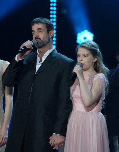 Дмитрий Певцов и Женя Абдулова