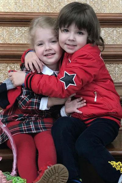Дети звезд окружены заботой многочисленных помощников семьи