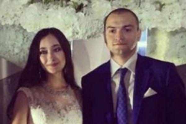 Невеста София и жених Вадим Бадалов