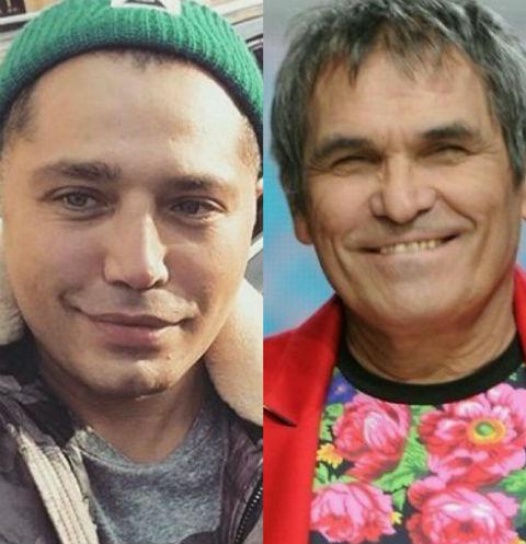 Рустам Солнцев и Бари Алибасов