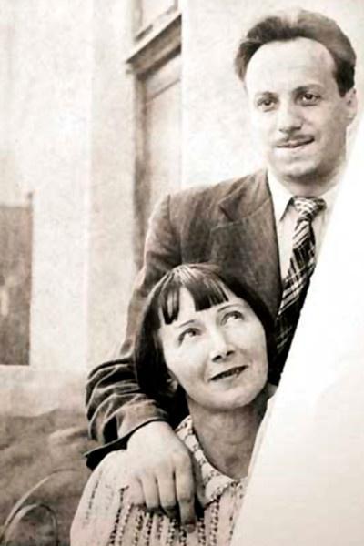 Рина Зеленая и Константин Топуридзе 40 лет прожили вместе