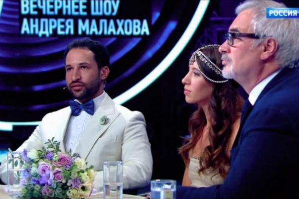 Валерий Меладзе с дочерью и зятем