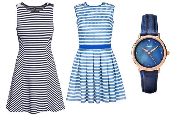 Платье слева: H&M, Платье справа: Kira Plastinina, Часы Limit