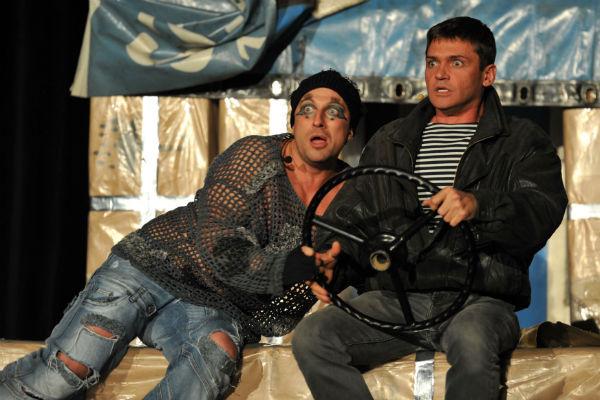 Дмитрий Нагиев и Игорь Лифанов вместе уже более 15 лет играют в спектакле «Кыся»