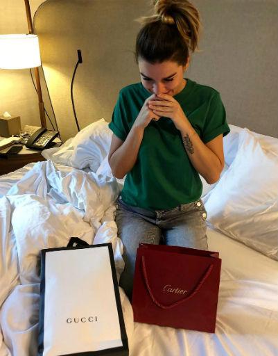 Ксения получила шикарные подарки от мужа