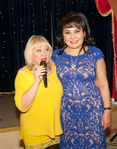 Ирина Грибулина и Клара Кузденбаева