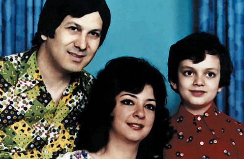 Филипп Киркоров с семьей в детстве