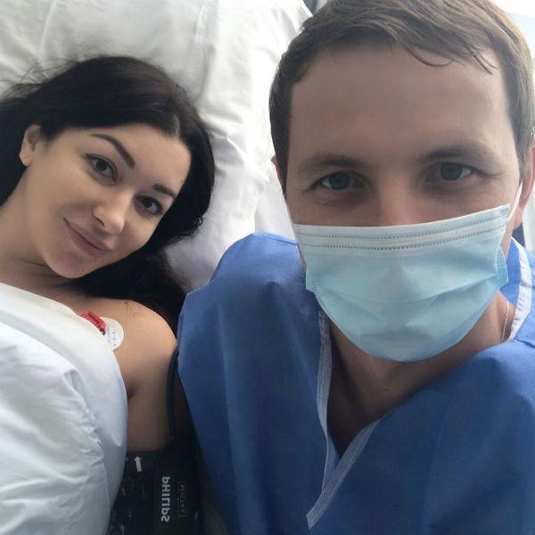 Роды Ларисы прошли в элитной клинике «Лапино»