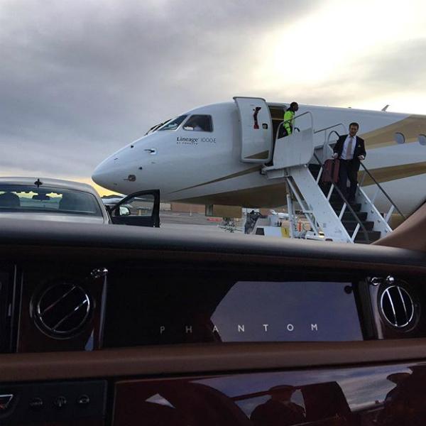 Батрутдинов похвастался частным самолетом