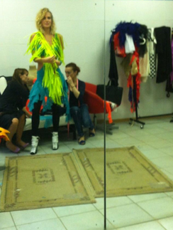 Глюк'OZа в концертном костюме на репетиции «Танцев со звездами»