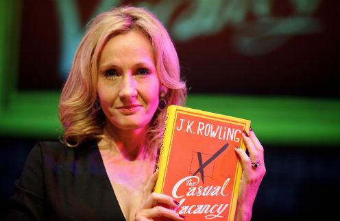Джоан Роулинг представила новый роман на литературном фестивале в Челтнеме