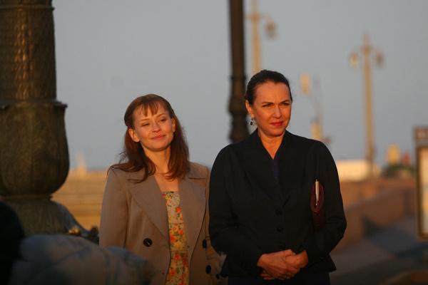 Юлия Пересильд и Татьяна Лютаева