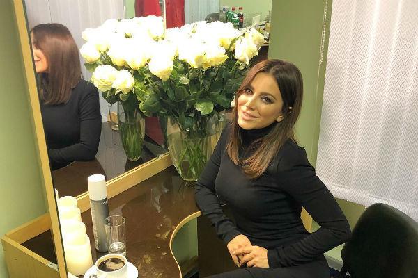 Ани Лорак празднует 40-летний юбилей