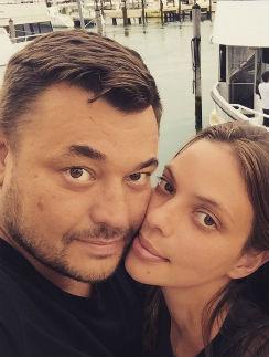 Сергей Жуков с женой Региной Бурд