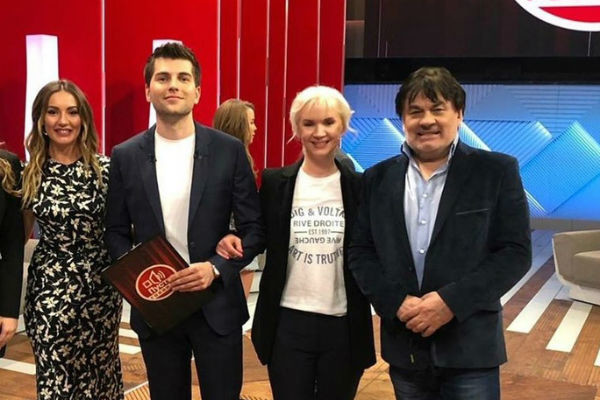 Елена Стебенева и Александр Серов сохранили хорошие отношения ради благополучия дочери