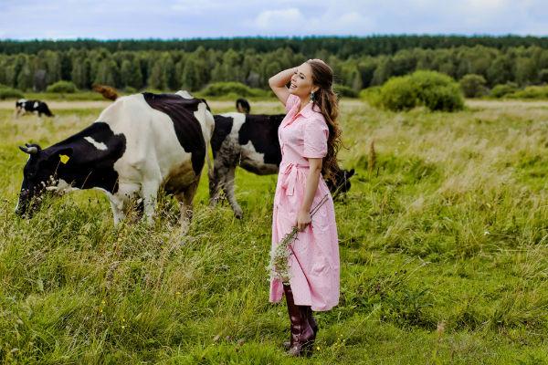 Корова Мэрипока останется жить на ферме