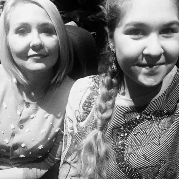 Василиса Володина с дочкой Викторией