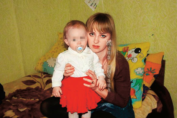 Экс-супруга Ильи Яббарова с дочерью