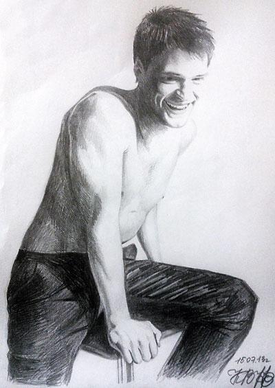 Ксения Воробьева нарисовала  больше  20  портретов Козловского