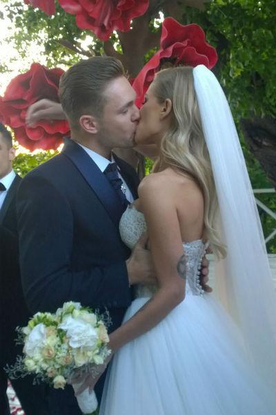 Соколовский и Герасимович признались гостям, что они очень счастливы