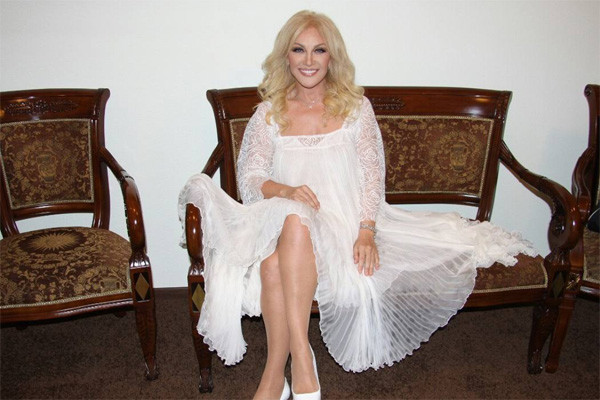 Таисия Повалий готовится к большому концерту в Кремле