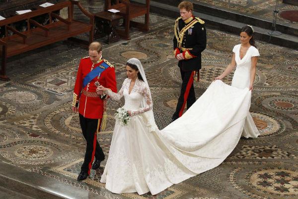 Свадьба принца Уильяма и Кейт Миддлтон состоялась 29 апреля 2011 года