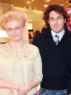 Андрей Малахов и Елена Малышева