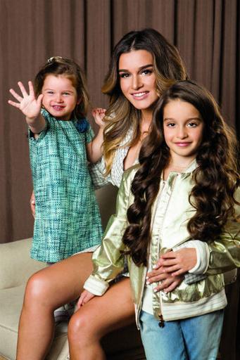 Ксения считает, что ее дочери очень разные по характеру