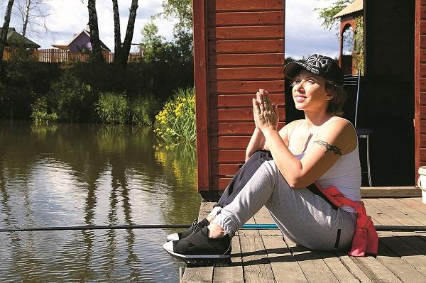 Елена признается, что природа как ничто другое помогает ей расслабиться